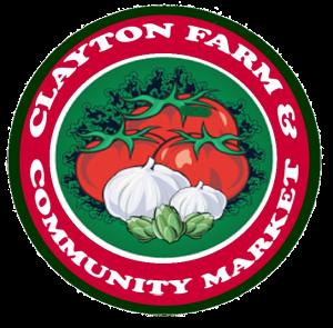 Clayton NC Farm and Community Market logo.