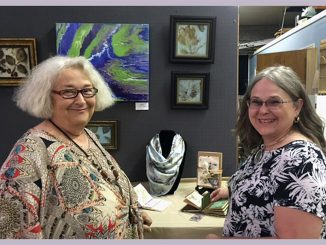 Dawn Lancaster and Donna Campbell Smith are featured artists for this Afternoon Tea with The Artist. Source: FCAC