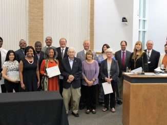 Mayor's Award sfor Commitment to Community were presented April 2018 in Knightdale, North Carolina. Source: Jonas Silver, Town of Knightdale