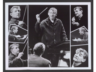 Leonard Bernstein conducting Young People's Concerts publicity photo, 1964. Source: US Library of Congress