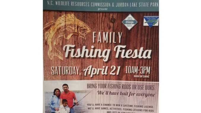 2018 Free Family Fishing Fiesta / Día de Pesca Familiar. Source: NC Wildlife