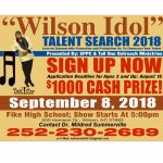 Wilson Idol flyer 2018. Source: Summerville Promotion and Production Co.