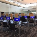 East Regional Library re-opened in April 2018 with fresh new look and space for computers, books, and events. Photo: Kay Whatley
