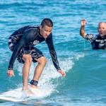 IndoJax Visually Impaired Surf Camp, Courtesy of Jesse Stephenson