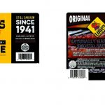 Two of the many labels released with this smoked sausage product recall. Source: USDA FSIS