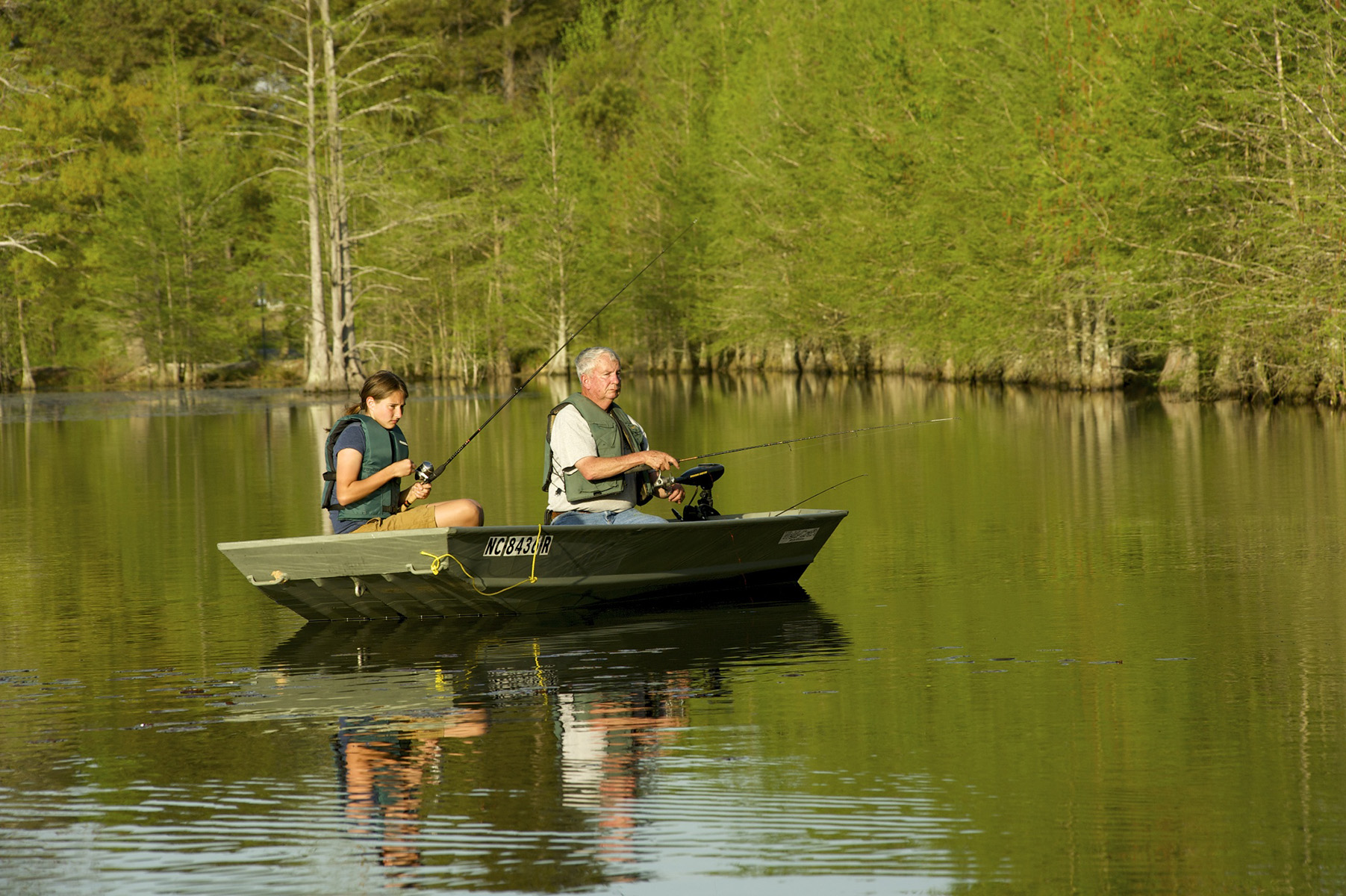 No license required on july 4 free fishing day in north for Nc wildlife fishing license