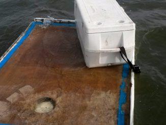 Boat debris used to keep Pamlico Sound NC survivors afloat. Source: US Coast Guard District 5