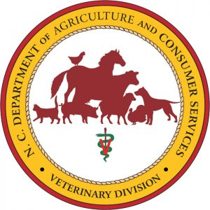 NC Department of Agriculture and Consumer Services' Veterinary Division logo