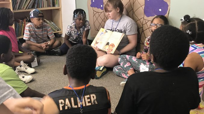 Peacemakers hosted 240 children in South Rocky Mount and Tarboro NC for 2018 Freedom School. Source: Kelley Deal