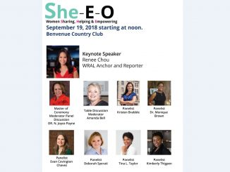 She-E-O-event. Source: Desiree Dolberry, Rocky Mount Area Chamber of Commerce, NC
