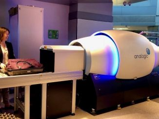 New CT scanner. Source: Transportation Security Administration, US Department of Homeland Security