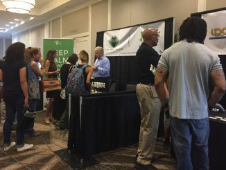 Expo vendors at the inaugural Carolina Hemp Festival and Expo 2018. Photo: Kay Whatley