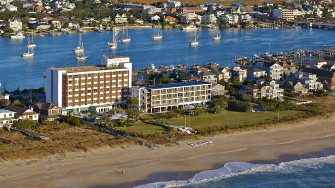 Blockade Runner is a popular place to stay at Wrightsville Beach. Photo: Courtesy of Blockade Runner Beach Resort