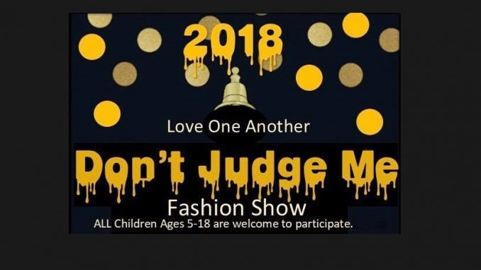 Don't Judge Me Fashion Show 2018
