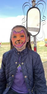 Amazing face painting at Maize in the City. Photo: Nicole Banks