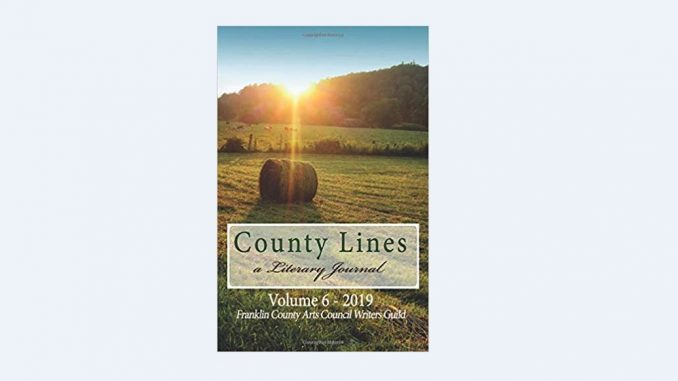Winning photograph by Patricia Joynes graces the cover of the FCAC Writers Guild's 2019 edition of County Lines Literary Journal. Source: Donna Campbell Smith