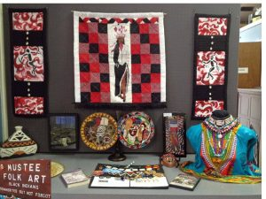 Mustee Folk Art -- Linda Wade. Source: Ellen Queen, Franklin County Arts Council, Louisburg, North Carolina