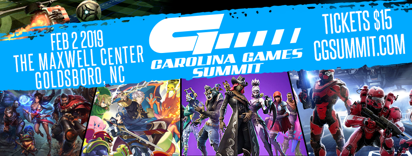 Carolina Games Summit to Take Over The Maxwell Center on Feb  2