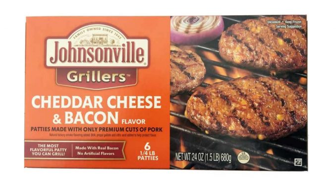 Label issued with Johnsonville, LLC Recall, January 2019. Source: USDA Food Safety and Inspection Service