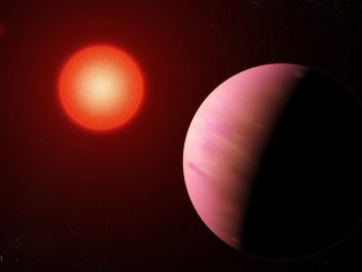 Illustration of the newfound planet K2-288Bb. Credit: NASA's Goddard Space Flight Center/Francis Reddy