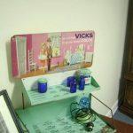 Display of Vick's VapoRub, invented in Selma, NC. Source: Max G. Creech Selma Historical Museum