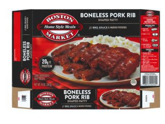 One of the labels released with the pork rib recall. Source: USDA Food Safety and Inspection Service