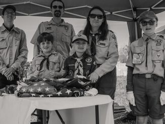Scout booth at Bunn Fun Day 2018. Source: Sherry Mercer, Commissioner, Town of Bunn, North Carolina