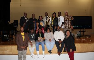 HCS participants in the Black History Program. Source: Halifax County Schools NC