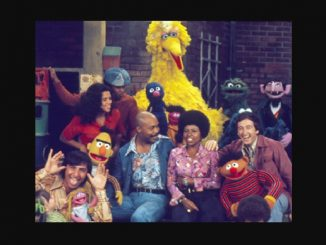 Sesame Street cast. Source: Library of Congress