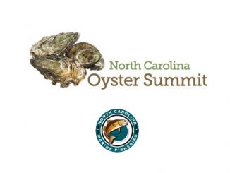 Logos for NC Oyster Summit and NC Division of Marine Fisheries