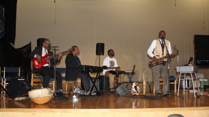 James 'Plunky' Branch and his band Oneness out of Richmond, Virginia. Source: Halifax County Schools NC