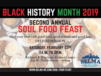 Soul Food Feast 2019. Source: Selma NC Parks and Rec