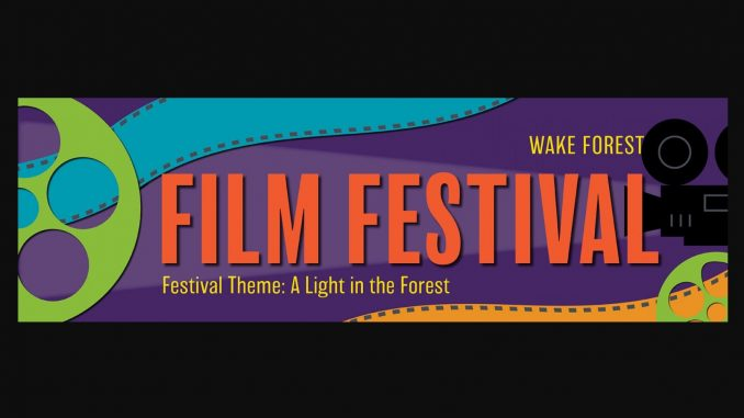 Wake Forest Film Festival 2019 logo. Source: Catherine Gouge, Wake Forest Renaissance Centre