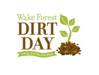 Dirt Day 2019 logo. Source: Town of Wake Forest, NC