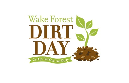 Dirt Day logo. Source: Town of Wake Forest, NC