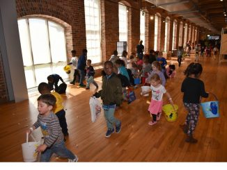 Photo from a prior year's Easter Eggstravaganza. Source: City of Rocky Mount