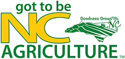 The Official Got To Be NC agriculture logo may only be used by authorized members. Source: NC Department of Agriculture.