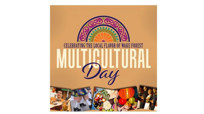 Multicultural Day image. Source: Town of Wake Forest