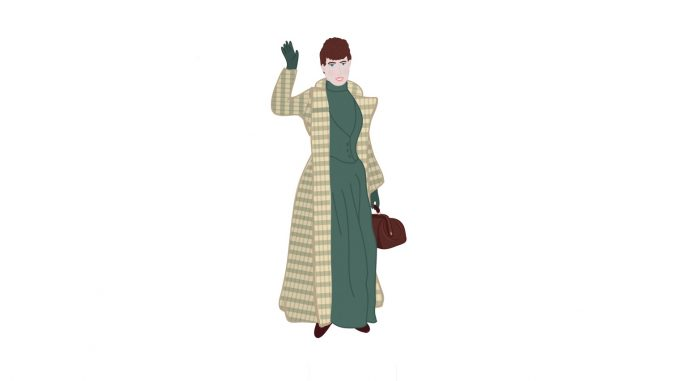 Investigative reporter Nellie Bly. Source: David Forsythe/Wet Rocks Media