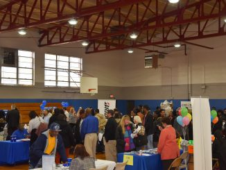 Participants fill the Booker T. Washington Community Center for the 2019 Job Fair. Source: City of Rocky Mount, North Carolina