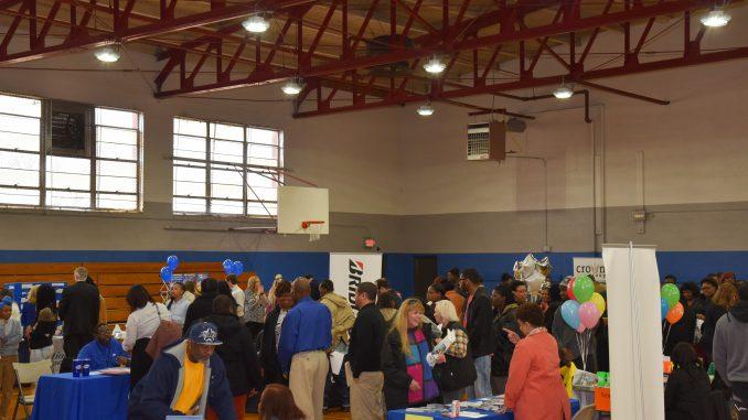 Participants fill the Booker T. Washington Community Center for the 2019 Job Fair. Source: City of Rocky Mount, North Carolina