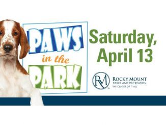 Paws In The Park 2019 flyer. Source: City of Rocky Mount, NC