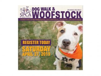 Dog Walk and Woofstock 2019 flyer. Source: Tara Lynn, SPCA of Wake County