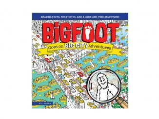 BigFoot Goes on Big City Adventures was released April 2019. Source: Happy Fox Books