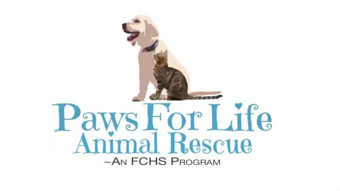 Paws for Life NC logo