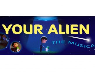 Your Alien the musical banner. Source: Wake Forest Renaissance Centre