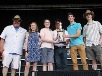 One Fret Over, winners of the Got to Be NC Festival bluegrass competition 2019. Source: Got to Be NC Festival