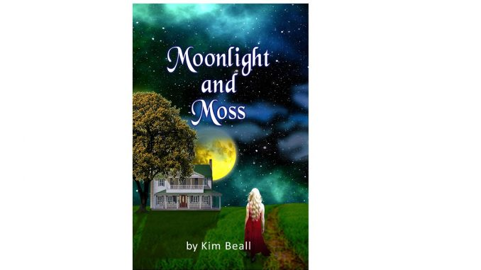 Moonlight and Moss, the new novel by Youngsville, NC author Kim Beall. Source: KrystalRose Press