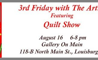 Quilt Show in August is part of the FCAC 3rd Friday with the Artist event series. Source:Ellen Queen, Franklin County Arts Council
