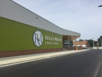 Rocky Mount Event Center. Photo: Kay Whatley, October 25, 2018 (grand opening day)